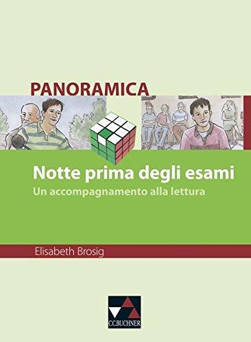 9783766149633: Panoramica. Notte prima degli esami: Un contributo alla lettura. Materialien zu italienischer Geschichte, Kultur und Gesellschaft