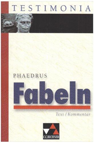 9783766151087: Fabeln. Text/ Kommentar. (Lernmaterialien)