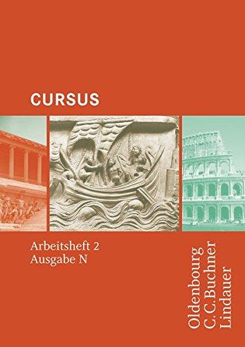 9783766152480: Cursus - Ausgabe N. Arbeitsheft 2: Einbändiges Unterrichtswerk für Latein in Nordrhein-Westfalen