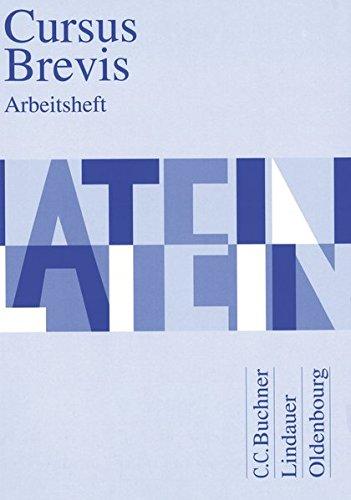 Cursus Brevis. Arbeitsheft (Pamphlet): Dieter Belde, Gerhard