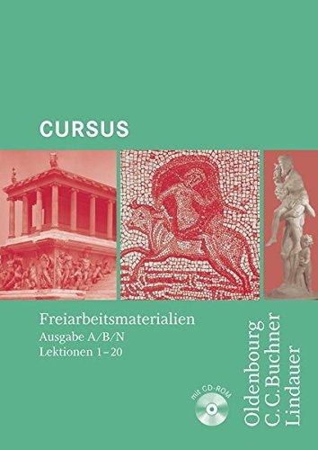 9783766153678: Cursus Freiarbeitsmaterialien: Loseblattsammlung zu den Lektionen 1-20