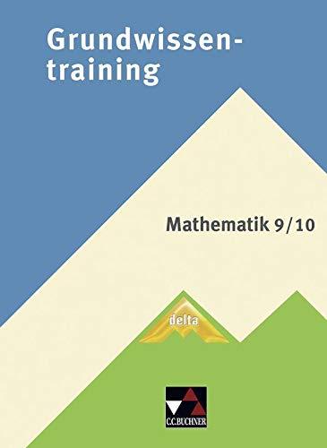 9783766161383: delta Grundwissentraining Mathematik 9/10