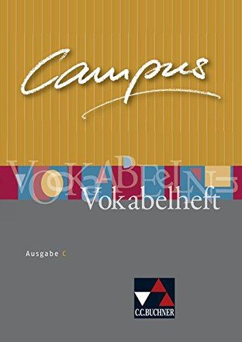 9783766178541: Campus C Vokabelheft: Gesamtkurs Latein in drei Bänden