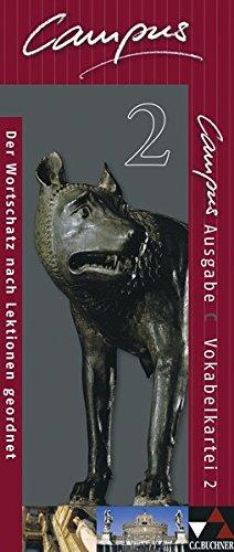 9783766178824: Campus C 2. Vokabelkartei: Gesamtkurs für Latein. Baden-Württemberg, Bayern, Brandenburg, Nordrhein-Westfalen