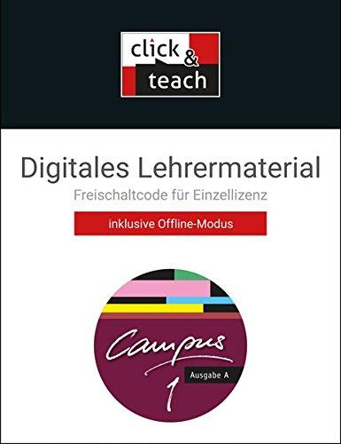 9783766179517: Campus A 1 click & teach Box (Karte mit Freischaltcode): Digitales Lehrermaterial