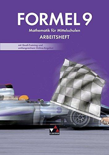 9783766182319: Formel 9 Neu Arbeitsheft: mit Quali-Training und umfangreichem Online-Angebot