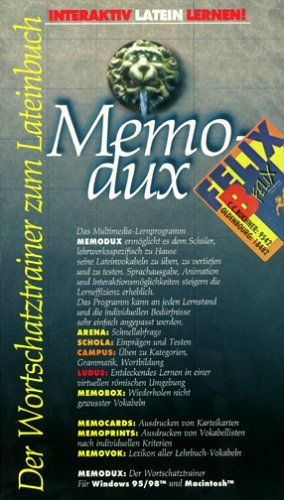 9783766195425: MemoDux. Felix B. CD-ROM f�r Windows 95/98/MacOS
