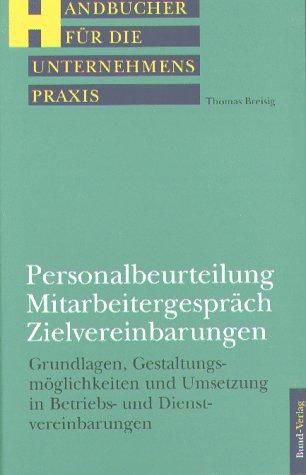 9783766328151: Personalbeurteilung, Mitarbeitergespräch ...