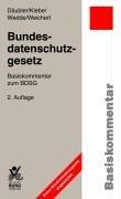 9783766332103: Bundesdatenschutzgesetz: Basiskommentar zum BDSG