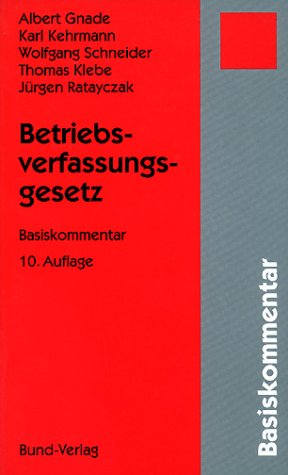 9783766333339: Betriebsverfassungsgesetz