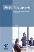 9783766339027: Aufsichtsratspraxis: Handbuch f�r die Arbeitnehmervertreter im Aufsichtsrat