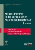9783766360885: Mitbestimmung in der Europäischen Aktiengesellschaft (SE): Betriebs- und Dienstvereinbarungen