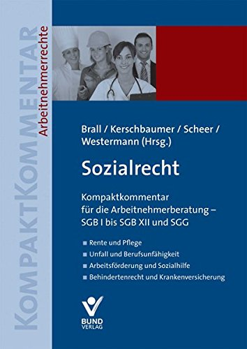 Sozialrecht, Kompaktkommentar: Natalie Brall