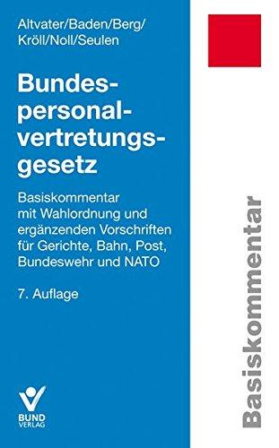Bundespersonalvertretungsgesetz: Lothar Altvater
