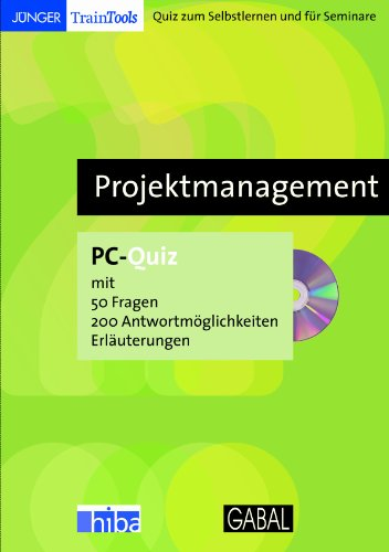 9783766494405: Projektmanagement - Lernquiz f�r PC [import allemand]