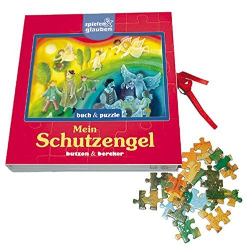 9783766606068: Mein Schutzengel. Buch und Puzzle. spielen & glauben