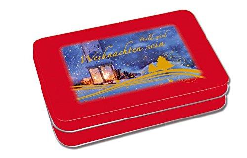 Bald wird Weihnachten sein: 24 Adventskalender-Karten: Eva Dicks