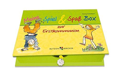9783766615671: Meine Spiel & Spaß Box zur Erstkommunion: Box mit 48 Karten,