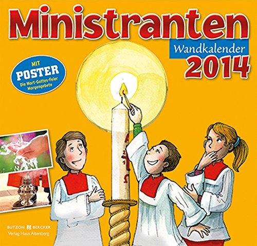 9783766616357: Ministranten-Wandkalender 2014