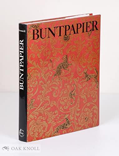 9783766703880: Buntpapier: Herkommen, Geschichte, Techniken, Beziehungen zur Kunst