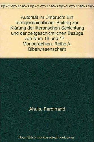 Autorit?§t im Umbruch: Ahuis, Ferdinand