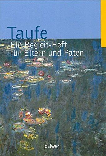 9783766842213 Taufe Ein Begleit Heft Für Eltern Und Paten