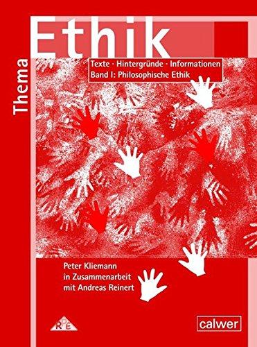 9783766842336: Thema Ethik Materialband. Philosophische Ethik