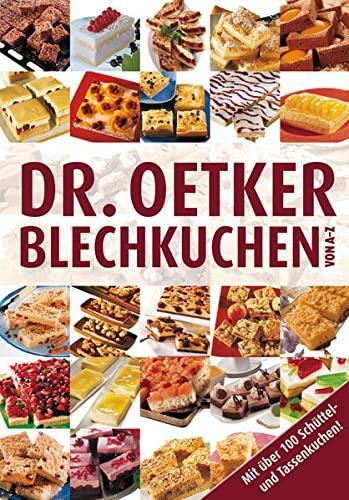 9783767013018: Dr. Oetker: Blechkuchen von A-Z