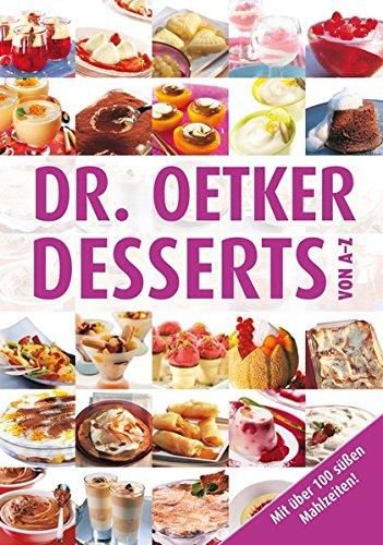 9783767013490: Desserts von A-Z