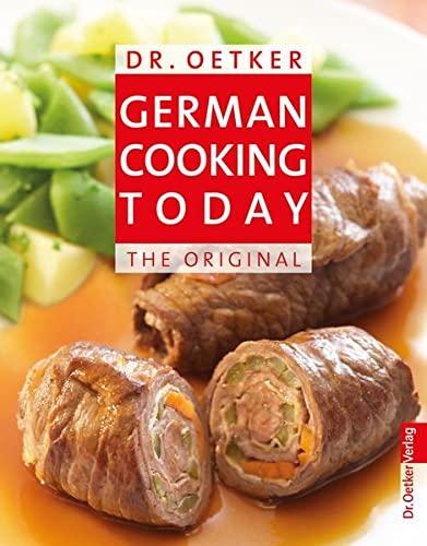 9783767017320: German Cooking Today - Reiseausgabe
