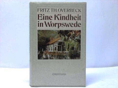9783767206373: Eine Kindheit in Worpswede