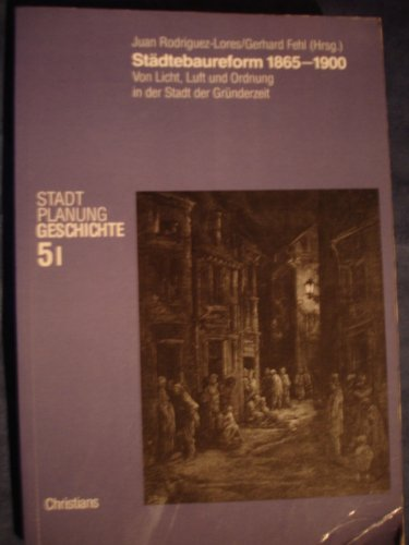 9783767208674: Städtebaureform 1865 - 1900. Teil I