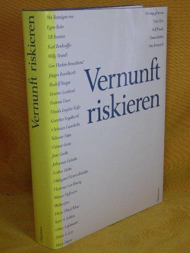 9783767210646: Vernunft riskieren. Klaus von Dohnanyi zum 23. Juni 1988
