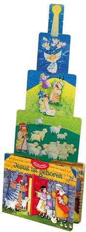 Jesus ist geboren. Ein Zieh- Schieb- Geschichten- Buch. ( Ab 3 J.). (3767576953) by Smath, Jerry; Zobel-Nolan, Allia