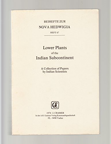 Lower Plants of the Indian Subcontinent: v.