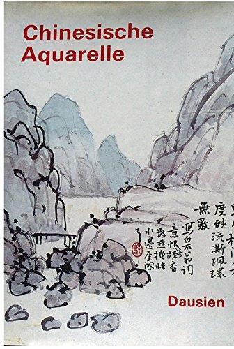 9783768417617: Chinesische Aquarelle der Shanghaier Malerschule