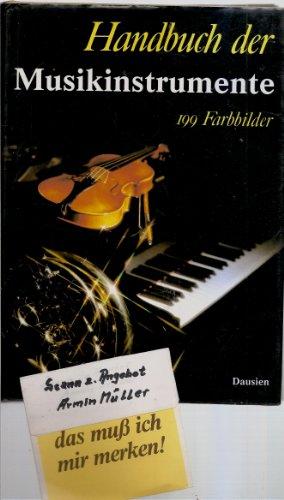 Handbuch der Musikinstrumente: Buchner, Alexander: