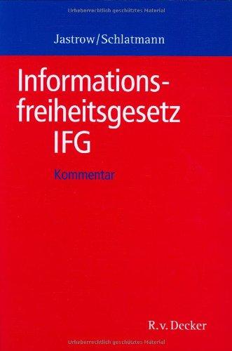 9783768505451: Informationsfreiheitsgesetz - IFG