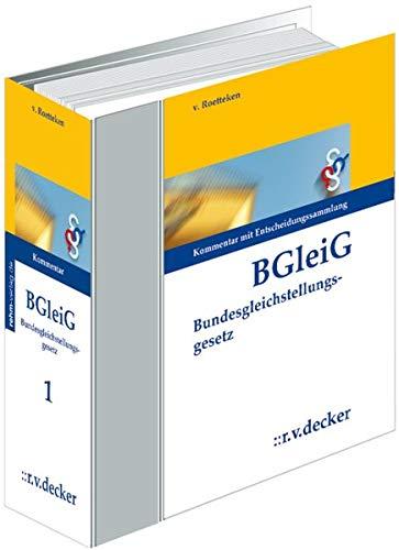9783768537445: Bundesgleichstellungsgesetz (BGleiG), Kommentar, 6 Ordner zur Fortsetzung