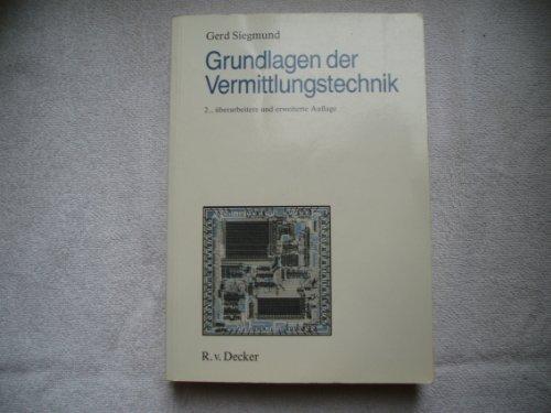 9783768548922: Grundlagen der Vermittlungstechnik