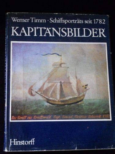 9783768801300: Kapitänsbilder. Schiffsportraits seit 1782