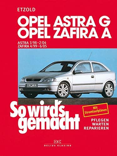 9783768810838: So wird's gemacht. Opel Astra G ab 3/98: Benziner: 1,2 l/ 48 kW (65 PS) ab 3/98. 1,6 l/ 55 kW (75 PS) ab 3/98. 1,6 l/ 74 kW (100 PS) ab 3/98. 1,8 l/ ... (68 PS) ab 3/98. 2,0/ 60 kW (82 PS) ab 3/98