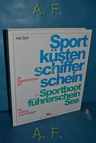 9783768811361: Sportküstenschifferschein und Sportbootführerschein See.
