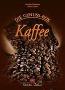 9783768815468: Die Genussbox: Kaffee. 40 farbige Tafeln mit Broschüre in Schmuckbox