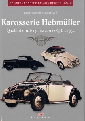 9783768817059: Karosserie Hebmüller