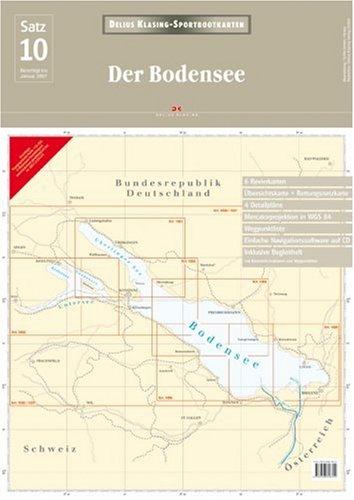 9783768818704: Sportbootkarten 10. Der Bodensee