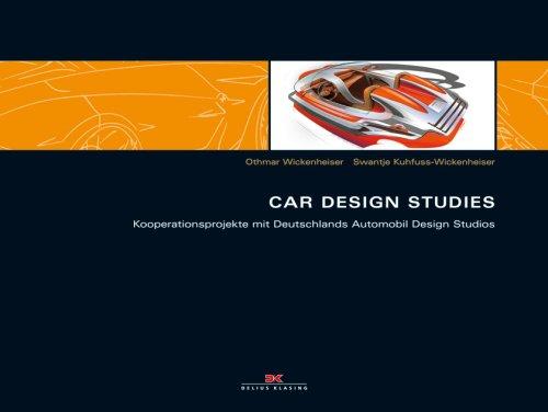 9783768819947: Car Design Studies: Kooperationsprojekte mit Deutschlands Automobil Design Studios
