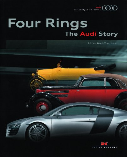 9783768826730: Four Rings: The Audi Story