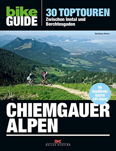 9783768835923: Bike Guide Chiemgauer Alpen