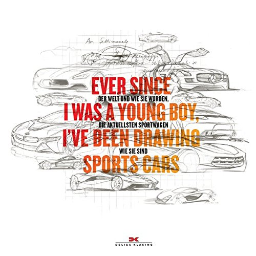Ever since I was a young boy I've been drawing Sports Cars: Bart Lenaerts